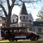 The Marshall Mansion and a Stanley Steam Car