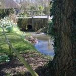 The Gate Inn, Marshside - The Beer Garden / RIVER & BRIDGE
