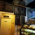 Pretty big menu but the Coffee is so-so