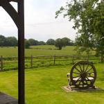 Rear garden view.