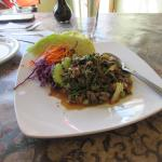 Spicy beef salad, had not had that for long time