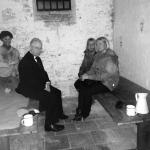 In the police cells at Camarthen