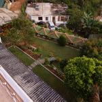 vue sur les terrasses inferieures