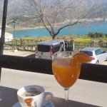 Vistas del desayuno desde la terraza