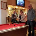 Bar withe pool table
