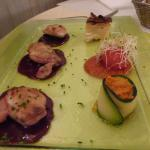 Poultry with cassis sauce