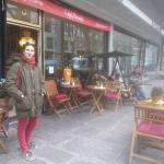 Cafe Minouche for breakfast!