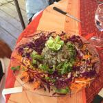 Endroit magnifique excellente cuisine française le vacherin en dessert succulent