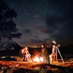 Campfire and Stargazing Experience