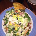 Salad with Skillet Corn Bread