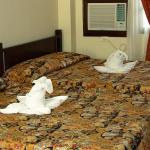 The hotel offers various room types from 2 to 10 pax. All rooms have queen size beds.