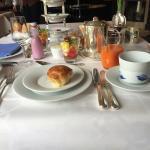 Frühstücksimpression, Strand