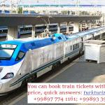 Booking train tickets with us!