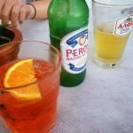 aperol spritz and peroni :-)
