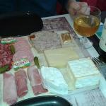 Planche de charcuteries et fromages