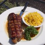 Try a KC Strip - chef's favorite - on the patio!