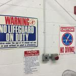 No lifeguard.  People WATCH YOUR KIDS!!!!