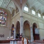 Inside St Mary's Cathedral Perth