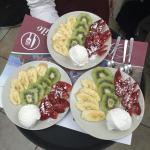 Ottima tagliata  di frutta