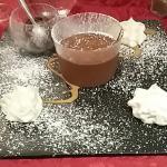 Mousse au chocolat maison.