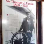 Sir Thoms J. Lipton impressive story