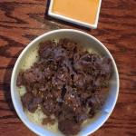Beef Bulgogi and Yum-Yum sauce (lunch bowl)