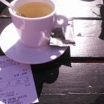 voici le ticket de caisse pour 2 thé , 10.20€