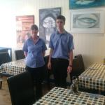 Some of our fantastic staff.
