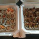 When you order to go Isana gives you everything you need and so yummy!