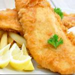 Our award winning Fish and Chips.