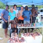 The lionfish hunt winners