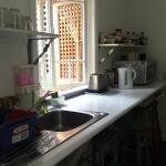 Upstairs kitchen are