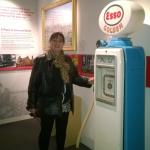 A blast from the past self sevice petrol pump
