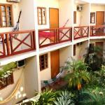 Vista interna dos apartamentos