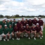 Fordham played Dartmouth in a match on the Champ course.