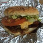 Hamburguer do Five Guy's
