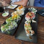 Sushi at Dragonfly
