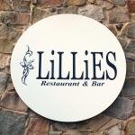 LiLLies Restaurant and Bar Outdoor Signage