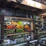 Our amazing counter where you can find the best local and international produce