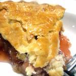 Rhubarba Pie, Marie Callendar's, Sunnyvale, CA