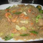 Pancit Guisado from their restaurant