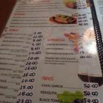 Conhecendo o menu.