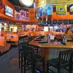 This is a picture of the inside of Texas Roadhouse.