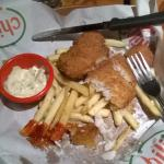 the only dish very good is the fish & chips