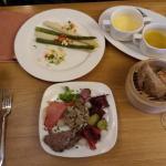 L'Assiette au Jambon d'Ardennes (cold starter)