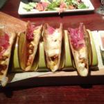 Chicken and Chorizo tacos