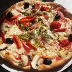 Giardiniera Classic Pizza without red onion