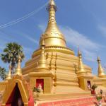 A temple at the top of Akauk Tuang