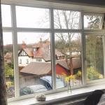 Window view in Burley room