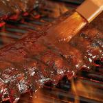 """Jim's"" famous Hickory Smoked Baby Back Ribs"